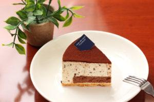 チョコチップレアチーズケーキ
